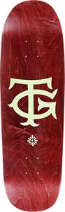 REAL SKATEBOARDS GUERRERO THE TG DECK-9.2 RED STAIN