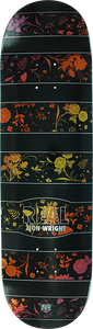 REAL SKATEBOARDS WRIGHT FLORAL DECK-8.38 BLK/COLOR lp-mellow