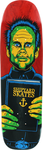 SHIPYARD PREACHER DECK-9x32.5 RED