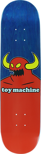 TOY MACHINE MONSTER MINI DECK-7.38 BLUE STAIN