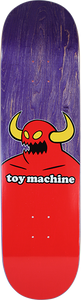 TOY MACHINE MONSTER DECK-8.38 PURPLE STAIN