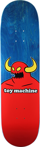 TOY MACHINE MONSTER DECK-8.5 BLUE STAIN