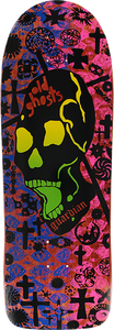VISION OLD GHOST MC DECK10x30.25 RED/PINK/BLU