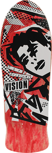 VISION ORIGINAL MG DECK-10x30 RED STAIN/WHT