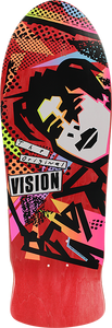 VISION ORIGINAL MG DECK-10x30 RED STAIN/YEL