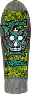 VISION GRIGLEY III DECK-9.75x31 BLACK/GRN/TEAL/WHT