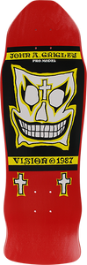 VISION GRIGLEY I DECK-9.5x30 RED/YEL