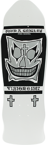VISION GRIGLEY I DECK-9.5x30 WHT/SIL