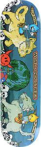 WORLD INDUSTRIES CATS JOUSTING DECK-8.5