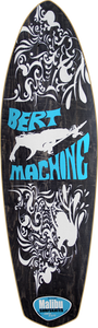 MALIBU BERT MACHINE DECK-9x30/17wb BLACK