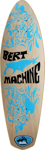 MALIBU BERT MACHINE DECK-9x30/17wb NATURAL