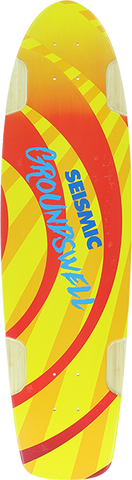 SEISMIC GROUNDSWELL DECK-9.25x34.5