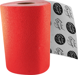 BLOOD ORG X-COARSE GRIP ROLL-RED 11x60