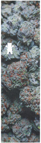 GRIZZLY 1-SHEET KUSH CUT OUT INDICA GOOFY GRIP