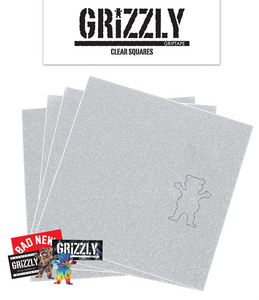 GRIZZLY GRIP SQUARES CLEAR PACK
