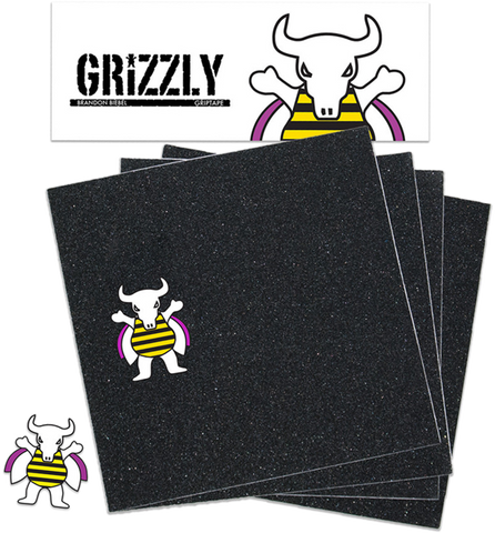 GRIZZLY GRIP SQUARES BIEBEL SIGNATURE PACK