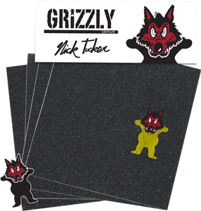 GRIZZLY GRIP SQUARES TUCKER WOLFPACK  PACK