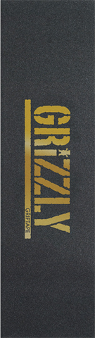 GRIZZLY 1-SHEET STAMP BLK/GOLD GRIP
