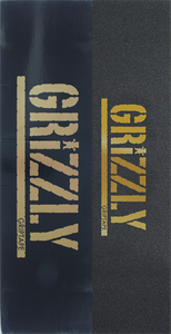 GRIZZLY 20/BOX STAMP BLK/GOLD GRIPTAPE
