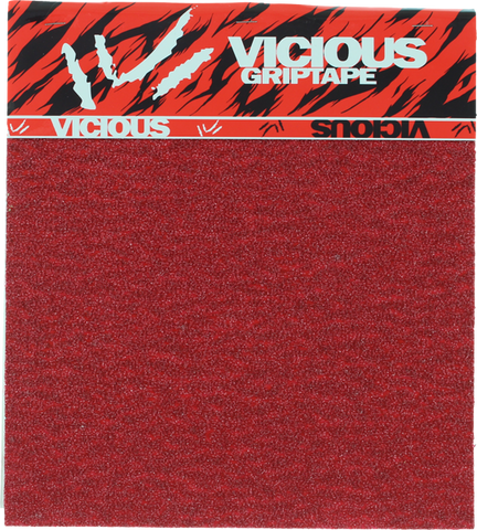 VICIOUS GRIP SQUARES RED (4pcs10x11)