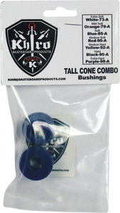 KHIRO T-CONE/L-BARREL BUSHING SET 85a SOFT BLU