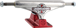 INDEPENDENT STD 129mm FORGED-HOLLOW VINTAGE CROSS SIL/RED