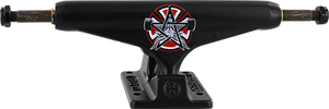 INDEPENDENT STD 159mm THRASHER PENTAGRAM MATTE BLK TRUCK