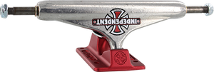 INDEPENDENT STD 159mm FORGED-HOLLOW VINTAGE CROSS SIL/RED