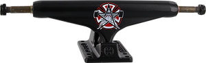 INDEPENDENT STD 169mm THRASHER PENTAGRAM MATTE BLK TRUCK