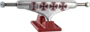 INDEPENDENT LOPEZ STD 139mm HOLLOW CROSSES SIL/BURGUNDY
