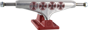 INDEPENDENT LOPEZ STD 149mm HOLLOW CROSSES SIL/BURGUNDY