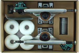 INDUSTRIAL TRUCKS COMP-PK 5.25 RAW/RAW W/WHT 52mm ppp