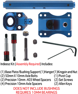 SZ TKP 10mm 127mm 45° BLUE 1-TRUCK KIT