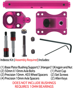 SZ TKP 10mm 177mm 45° PINK 1-TRUCK KIT