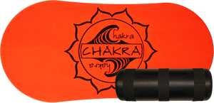 CHAKRA DECK/ROLLER BALANCE KIT- NEON ORANGE
