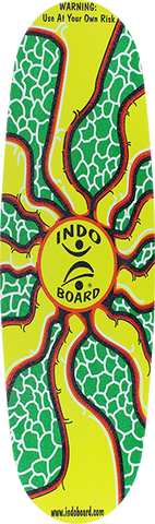 INDOBOARD MINI PRO DECK(DECK ONLY) SUNBURST