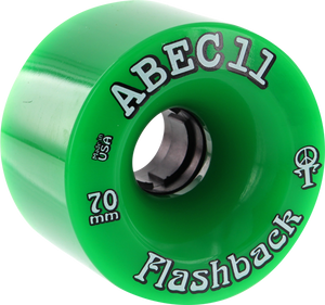 ABEC11 FLASHBACKS 70mm 78a GREEN