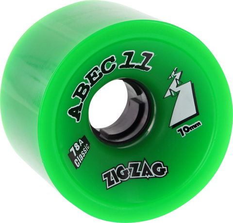 ABEC11 CLASSIC ZIGZAGS 70mm 78a GREEN