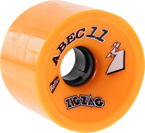 ABEC11 ZIGZAGS 66mm 86a ORANGE