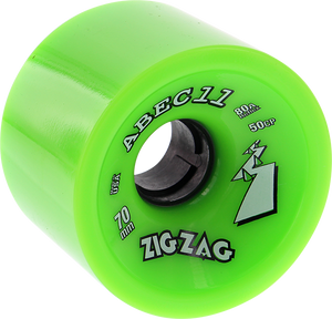 ABEC11 ZIGZAGS 70mm 80a LIME