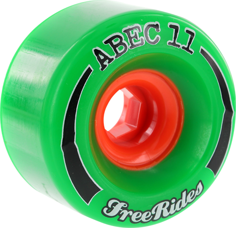 ABEC11 FREERIDE 72mm 78a GREEN