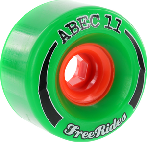 ABEC11 FREERIDE 72mm 84a GREEN