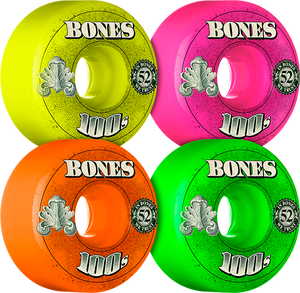 BONES 100's OG 52mm ASSORTED #3 MONEY ppp