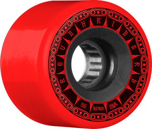 BONES ATF ROUGH RIDER TANK 56mm 80a RED