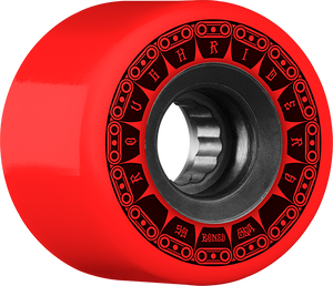 BONES ATF ROUGH RIDER TANK 59mm 80a RED