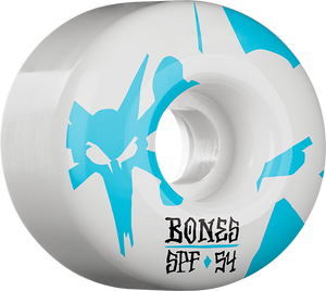 BONES SPF REFLECTIONS 54mm 84B WHITE/BLUE