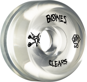 BONES SPF CLEARS 60mm CLEAR