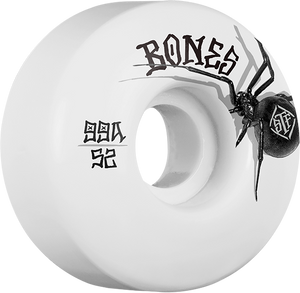 BONES STF V1 BLACK WIDOW EASY STREETS 52mm WHT/BK