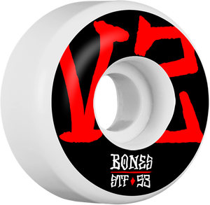 BONES STF V2 ANNUALS BOLD 53mm WHITE