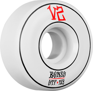 BONES STF V2 ANNUALS PIN LOCKS 53mm WHT